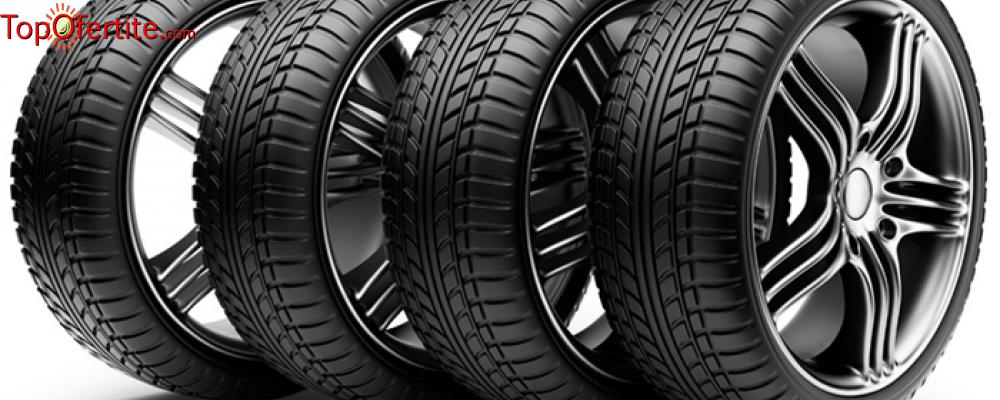 Смяна на 2 броя гуми с включен монтаж, демонтаж и баланс от Сервиз Фиат, Ланчия и Алфа Ромео само за 9 лв