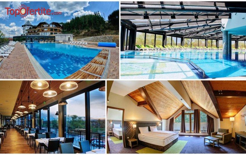 Нова Година в Хотел Хот Спрингс Медикъл и СПА 4*, село Баня! 3 или 4 нощувки + закуски, вечери, вътрешен басейн с минерална вода и СПА пакет на цени от 780 лв на човек