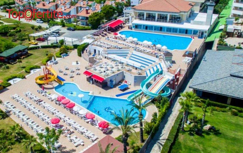 Почивка в Турция през октомври! 7 нощувки на база All inclusive + самолетен билет,  летищни такси и трансфер на цени от 568 лв на човек