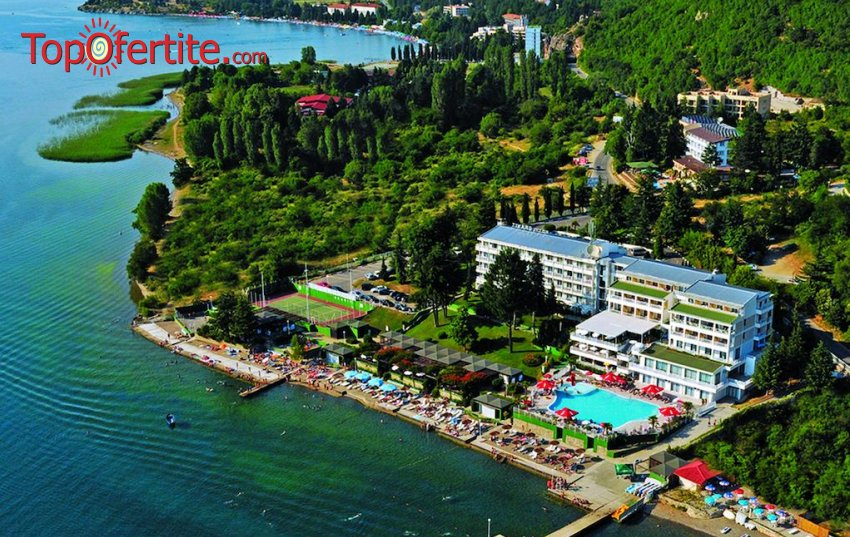 На брега на Охридското езеро в Хотел Гранит 4*, Охрид, Северна Македония! Нощувка + закуска или закуска и вечеря на цени от 76,50 лв. на човек