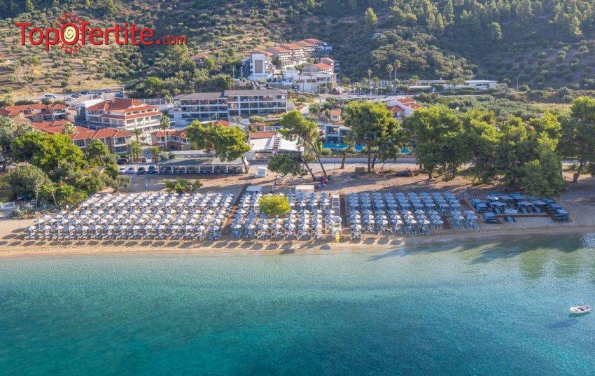 Ранни резервации лято 2021! Lagomandra Beach Hotel 4* Халкидики! Нощувка + закуска и вечеря от 74лв на човек