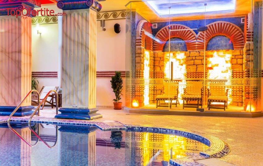 Уелнес пакет в Хотел Сейнт Джордж 4*, Поморие! Нощувка + закуска, 3 процедури на ден, басейн с морска вода и СПА на цени от 79 лв. на човек при престой от минимум 4 нощувки