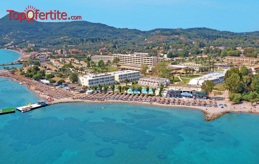 Ранни резервации Лято 2021! Messonghi Beach Hotel 3* Корфу, Гърция! Нощувка All Inclusive, на първа линия до брега на морето на цени от 68лв на човек