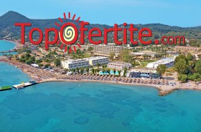 Ранни резервации Лято 2021! Messonghi Beach Hotel 3* Корфу, Гърция! Нощувка All Inclusive, на п...