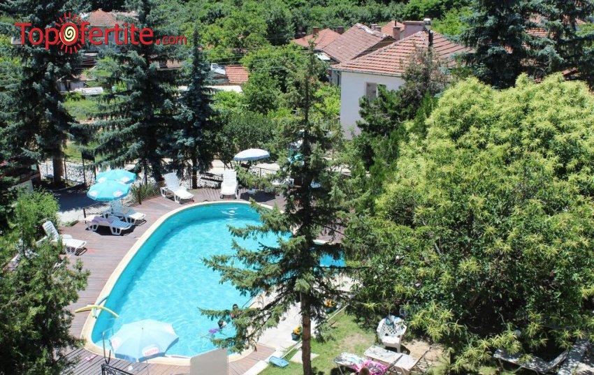 Хотел Виталис, с. Пчелин Пчелински минерални бани! Нощувка на база All Inclusive + външен и вътрешен басейн с минерална вода 34-38 градуса и сауна на цени от 41 лв. на човек