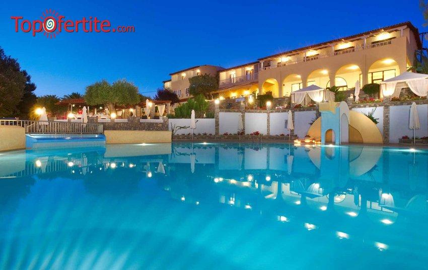 Ранни резервации Лято 2021! Elea Beach Hotel 4* Халкидики, Ситония! Нощувка със закуска и вечеря и безплатно дете до 11.99 на цени от 46лв на човек