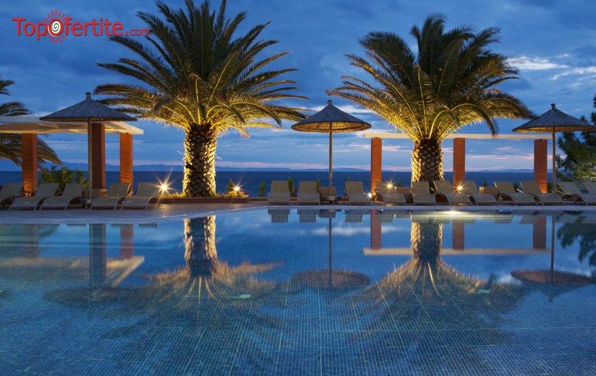 Ранни резервации Лято 2021! Alexandra Beach Resort 4* Гърция, Тасос! Нощувка + закуска, вечеря, басейн и безплатно дете до 11,99г на цени от 71лв на човек