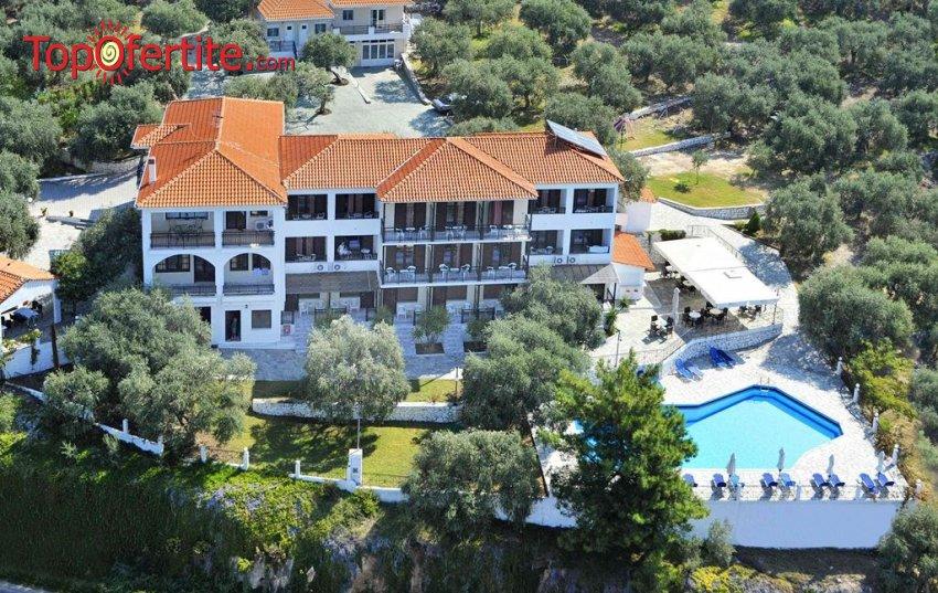 Ранни резервации 2021! Villa Natassa 2.5* Тасос, Гърция! Нощувка със закуска и вечеря на цени от 58лв на човек
