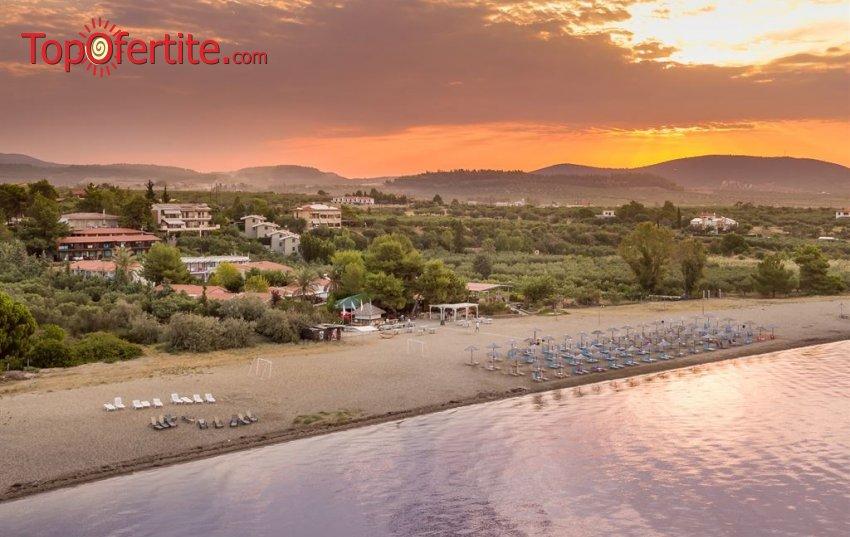 Ранни резервации Лято 2021! Coral Blue Hotel 3* Ситония, Халкидики, Гърция! Нощувка за двама със закуска и вечеря на цени от 133лв