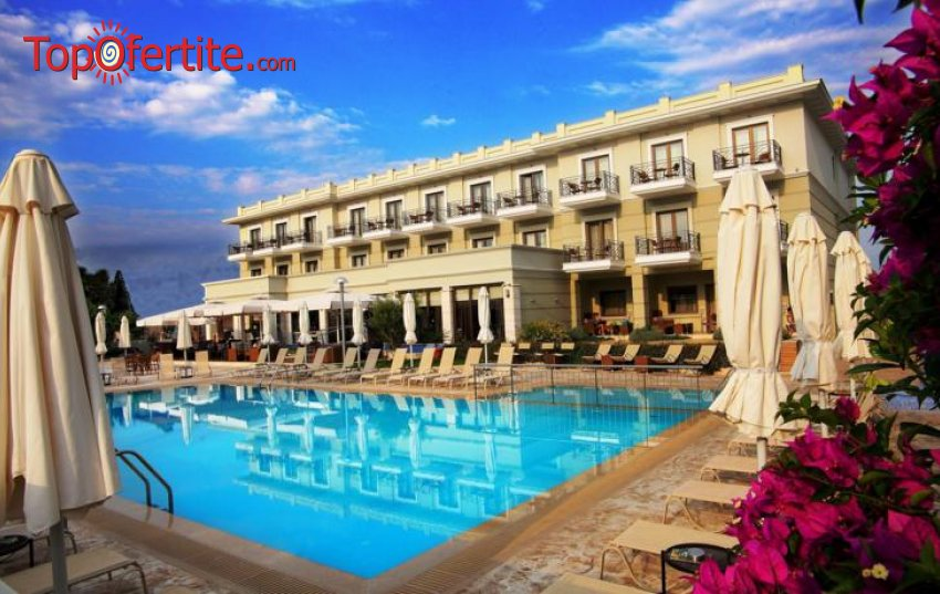 Ранни резервации Лято 2021! Danai Hotel and Spa 4* Олимпийска ривиера, Гърция! Нощувка, закуска и вечеря, басейн и дете до 5.99 безплатно на цени от 67лв на човек