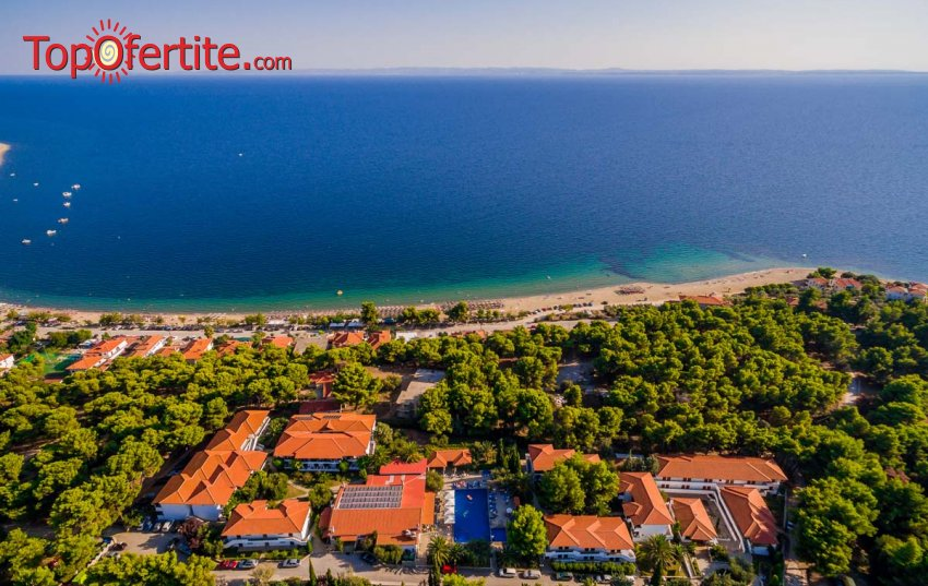 Black Friday! Philoxenia Hotel 4*, Ситония, Халкидики Гърция! Нощувка + закуска и вечеря на цени от 46 лева на човек