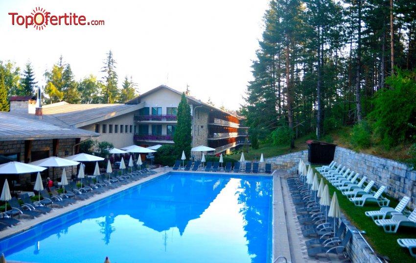 ПРОМО!!! Хотел Велина 4*, Велинград! Нощувка + закуска, открит и закрит басейн с минерална вода с полуолимпийски размери, джакузи и Уелнес пакет на цени от 42,80 лв. на човек