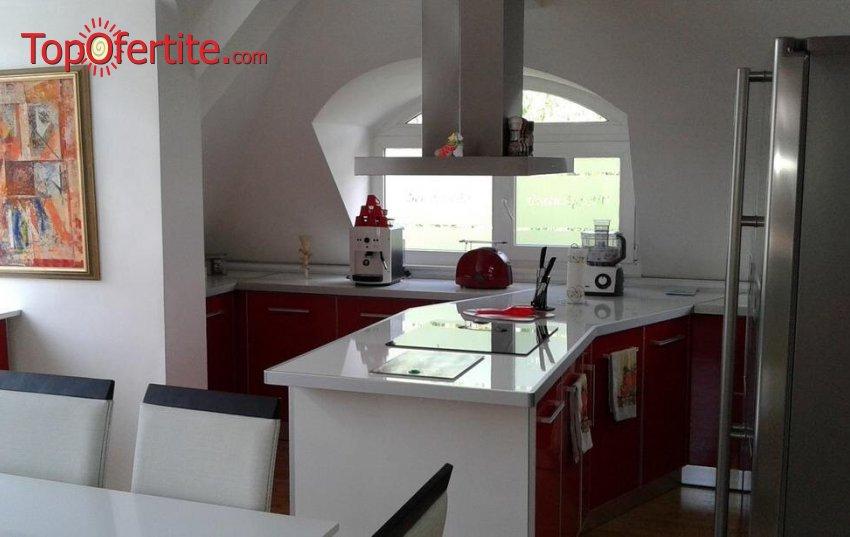 Релакс и комфорт в луксозно обзаведен апартамент за гости Сажитариус, Кюстендил! Нощувка за до четирима без изхранване или със закуска на цени от 129 лв. за помещението