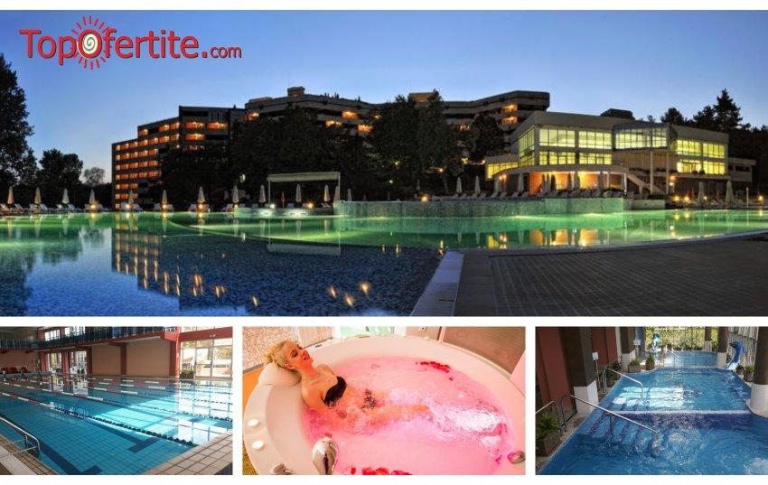 Свети Валентин в Хотел Хисар 4*, Хисаря! 1 или 2 нощувки + закуски, вечери, басейн с минерална вода и СПА пакет на цени от 102 лв. на човек