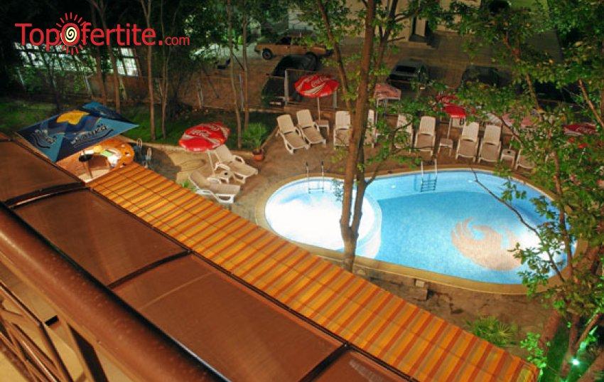 На море в Хотел Феникс, Китен! Нощувка на база All Inclusive + външен басейн на цени от 38 лв. на човек