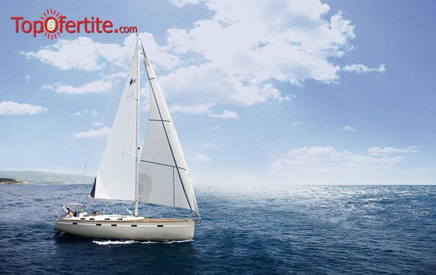 2 или 4 часа разходка с луксозна яхта в Черно море около Несебър, Равда, Слънчев бряг, Свети Влас и нос Емине от Яхта Мис Мелина + напитки и хапване на цени от 44 лв на човек.
