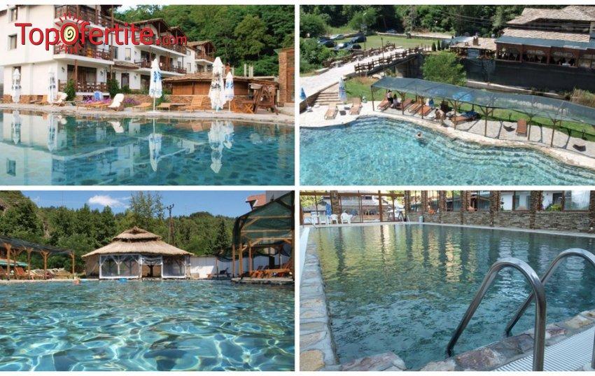 Хотел Петрелийски, Огняново! Нощувка + закуска, вечеря, закрит и открит басейн с минерална вода, сауна и парна баня на цени от 57 лв. на човек
