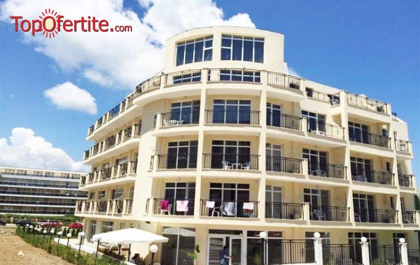 На море в хотел Ориос 3*, Приморско! Нощувка база All Inclusive + басейн, шезлонг и чадър около басейна на цени от 47 лв. на човек