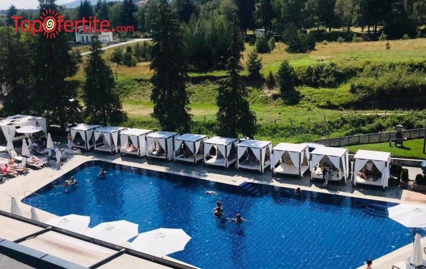 Лято в Хотел Арте СПА и Парк 5*, Велинград! Нощувка + закуска, вечеря, вътрешен и външен минерален басейн и Уелнес пакет на цени от 130 лв. на човек + Безплатно за деца до 12 г.