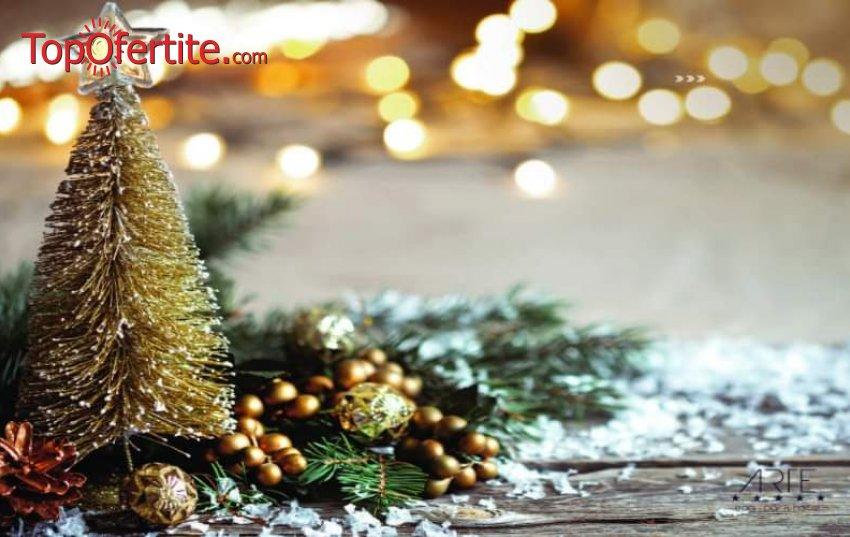 Ранни записвания за Коледа в Хотел Арте СПА и Парк 5*, Велинград! 3 или 4 нощувки + закуски, вечери, Празнична програма, Анимация за деца, вътрешен и външен минерален басейн и Уелнес пакет на цени от 465  лв. на човек + Безплатно за деца до 12 г.