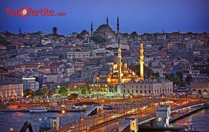 4-дневна екскурзия до Истанбул и Одрин + 2 нощувки със закуски, възможност за посещение на църквата Първо число, транспорт и екскурзоводско обслужване за 109 лв. на човек