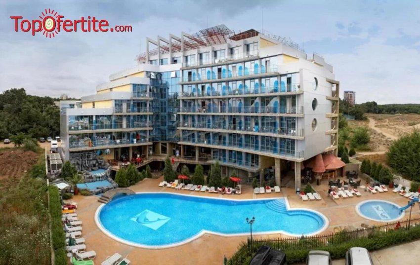 На море в Хотел Каменец 4*, Китен - Първа линия! 5 или 6 нощувки на база All Inclusive + басейн на цени от 225 лв. на човек