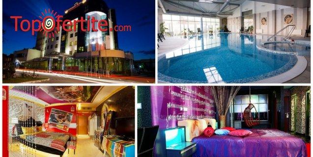Нова Година в Diplomat Plaza Hotel & Resort 4*, Луковит! 2 или 3 нощувки + закуски, вечери, Новогодишна празнична вечеря, Новогодишен брънч, топъл басейн и СПА пакетна цени от 379 лв. на човек