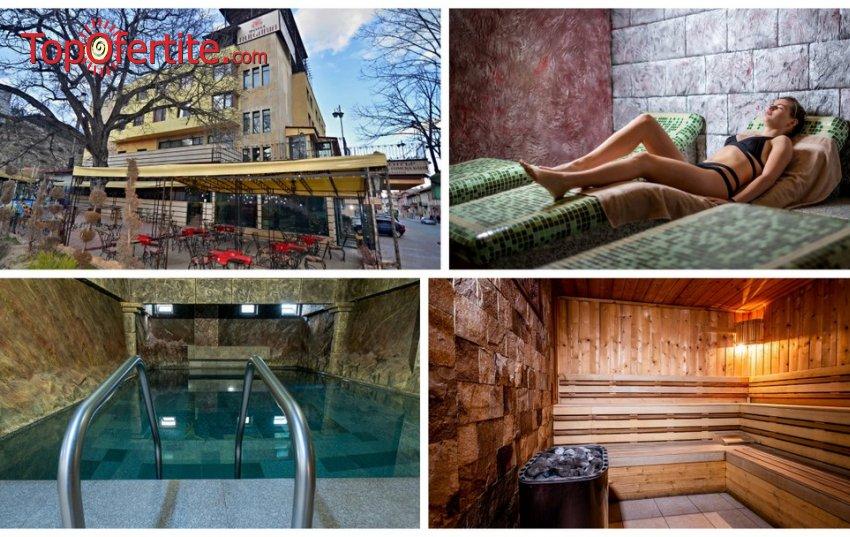 Коледа в Хотел България 3*, Велинград! 3 или 4 нощувки + закуски, вечери, Празничен обяд, топъл минерален басейн и Уелнес пакет на цени от 195 лв. на човек