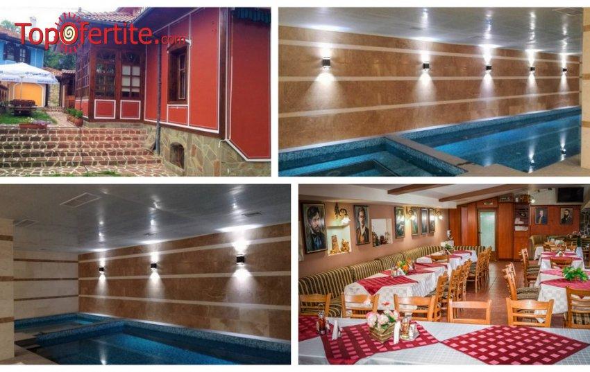 Нова Година в Комплекс Галерия, Копривщица! 3 нощувки + закуски, вечери, вътрешен басейн с минерална вода, джакузи и СПА зона за 390 лв. на човек