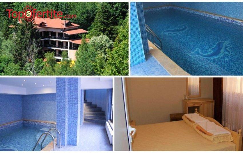 Семеен Хотел Илинден, Шипково до Троян! Нощувка + закуска, вечеря и вътрешен басейн с минерална вода за 44 лв. на човек