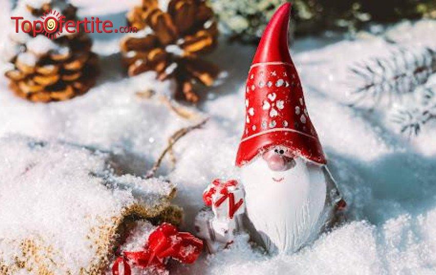 Коледа в Комплекс Каталина Ризорт 4*, Цигов чарк! 3 или 4 нощувки + закуски, вечери, Празнична Коледна вечеря, вътрешен басейн, джакузи, сауна, инфрачервена сауна, парна баня, хамам ирелакс зона на цени от 340  лв. на човек