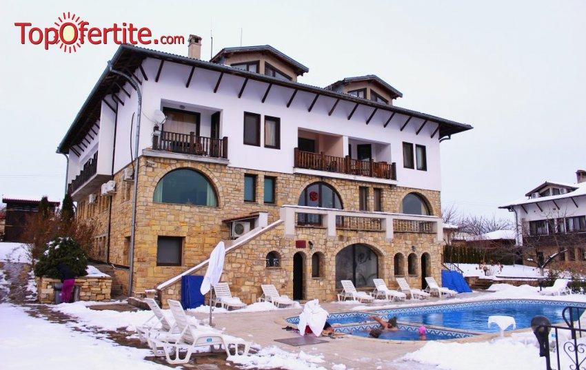 Хотел Винпалас, Арбанаси! Нощувка + закуска, вечеря, вътрешен и външен топъл басейн, джакузи и парна баня на цени от 42 лв. на човек